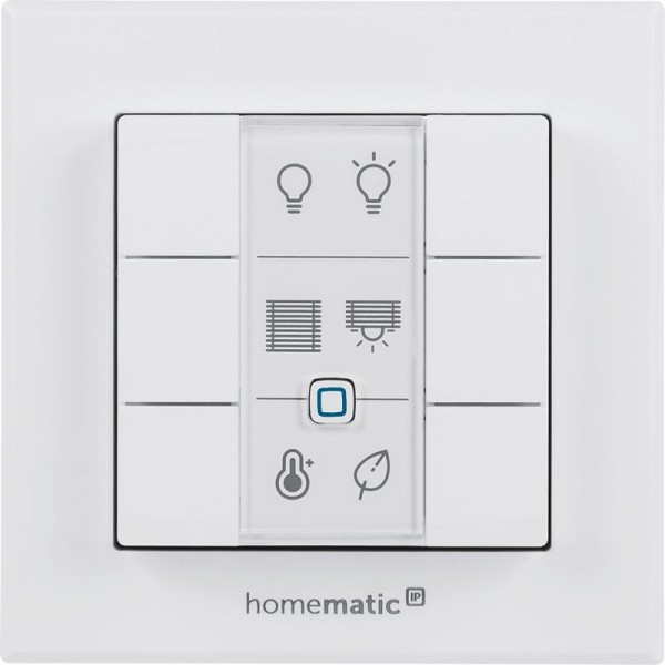 Homematic IP Wandtaster – 6-fach