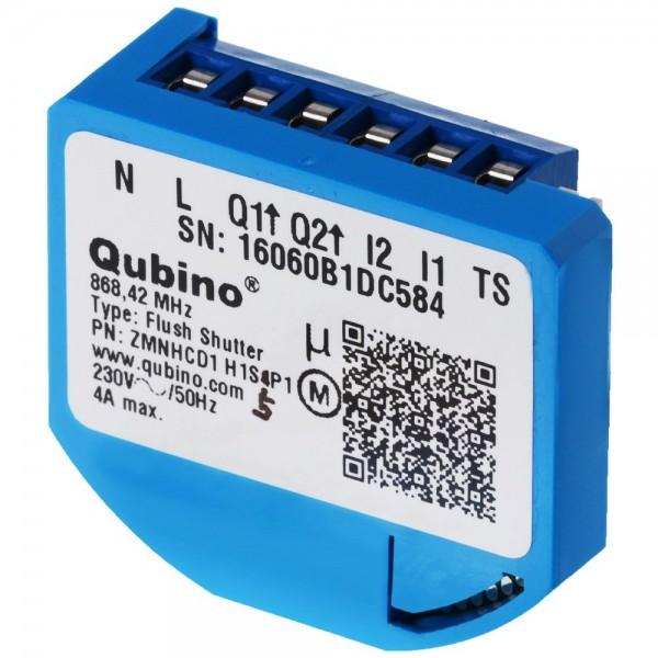Qubino Flush Shutter Unterputz-Mikromodul EU Rolladenaktor