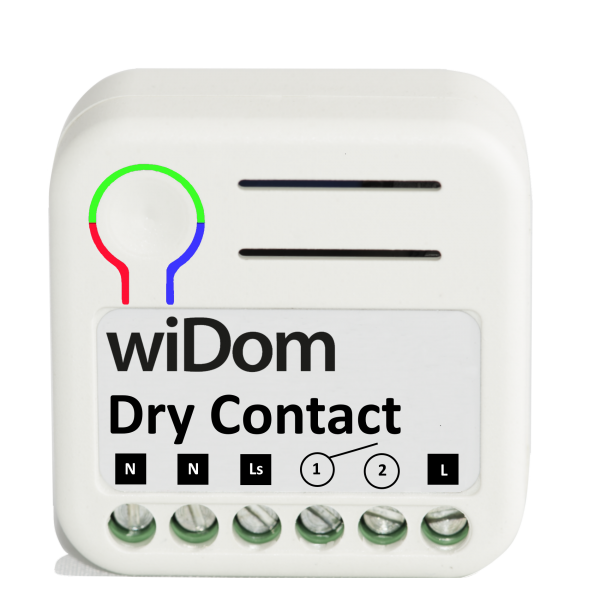 WiDom Relais with Dry Contact
