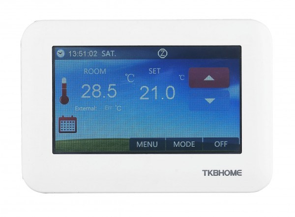 TKB Home Thermostat - Touchpanel