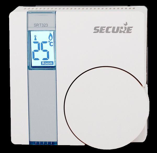 Secure Raumthermostat mit Temperatur-Sensor