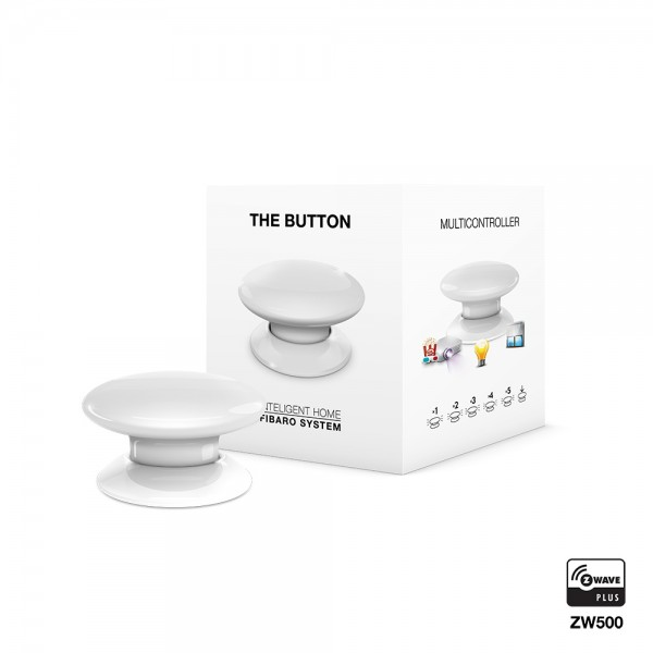 Fibaro The Button, weiß