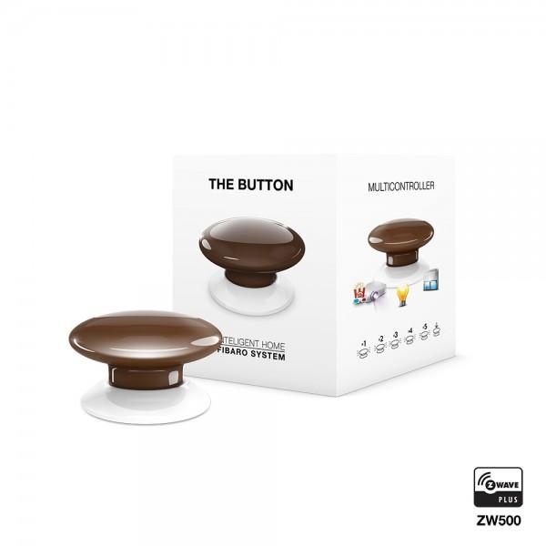 Fibaro The Button, braun