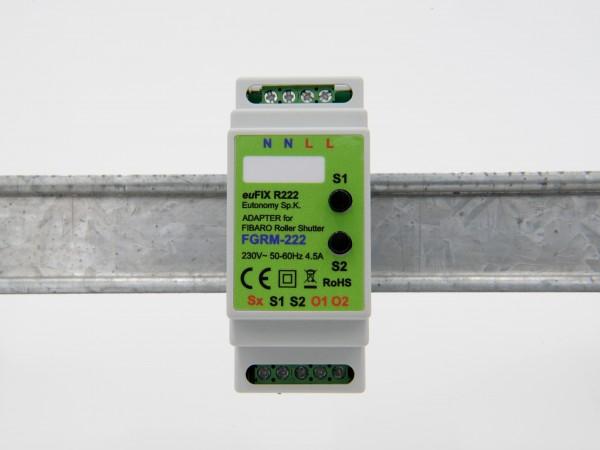 Eutonomy - euFix R222 DIN Adapter (mit Button)