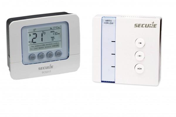 Secure Set: Programmierbares Thermostat mit Empfänger