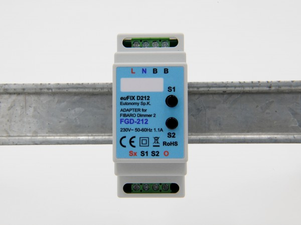 Eutonomy - euFIX D212 DIN Adapter (mit Button)