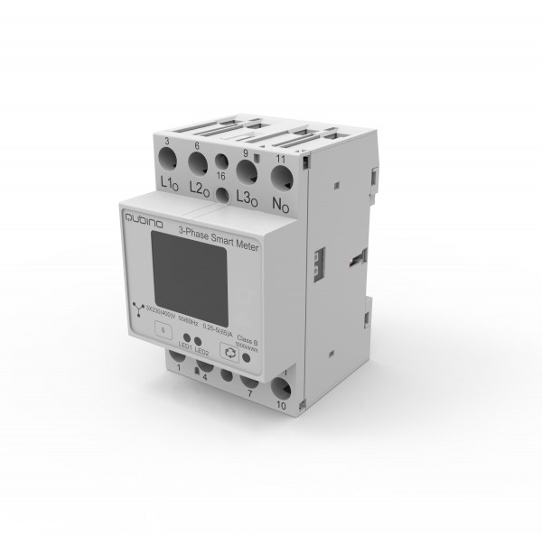 Qubino 3-Phasen Smart Meter