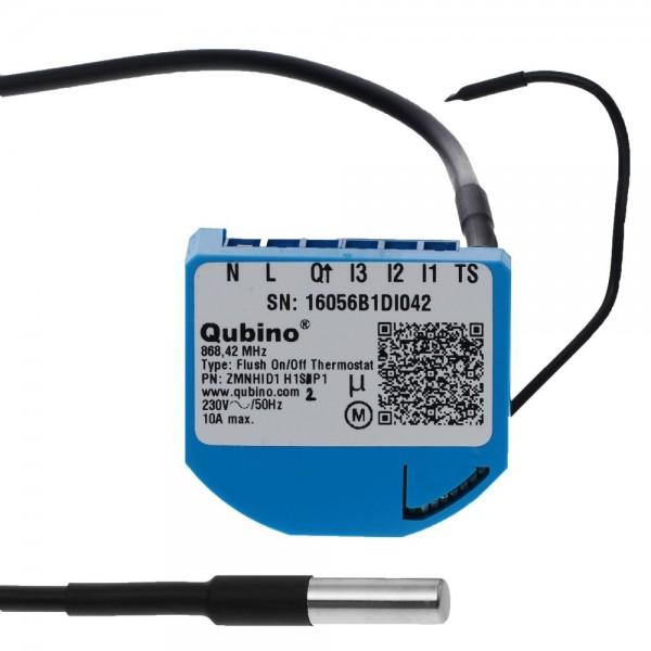 Qubino Flush On/Off Thermostat Unterputz-Mikromodul EU