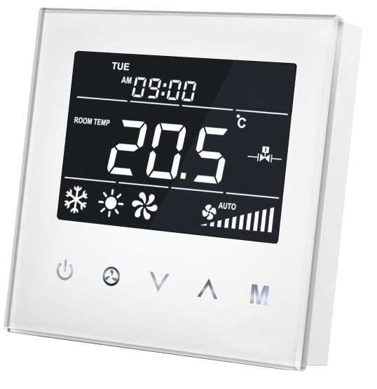 MCO Home - Fan Coil Thermostat (2 Leitungsrohre)